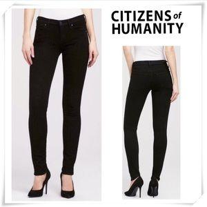 Citizen of Humanity Avedon Slick Skinny Black